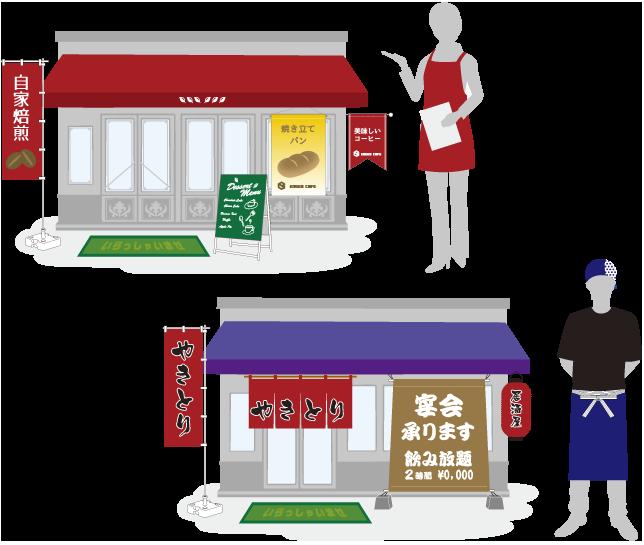飲食店関係イメージ